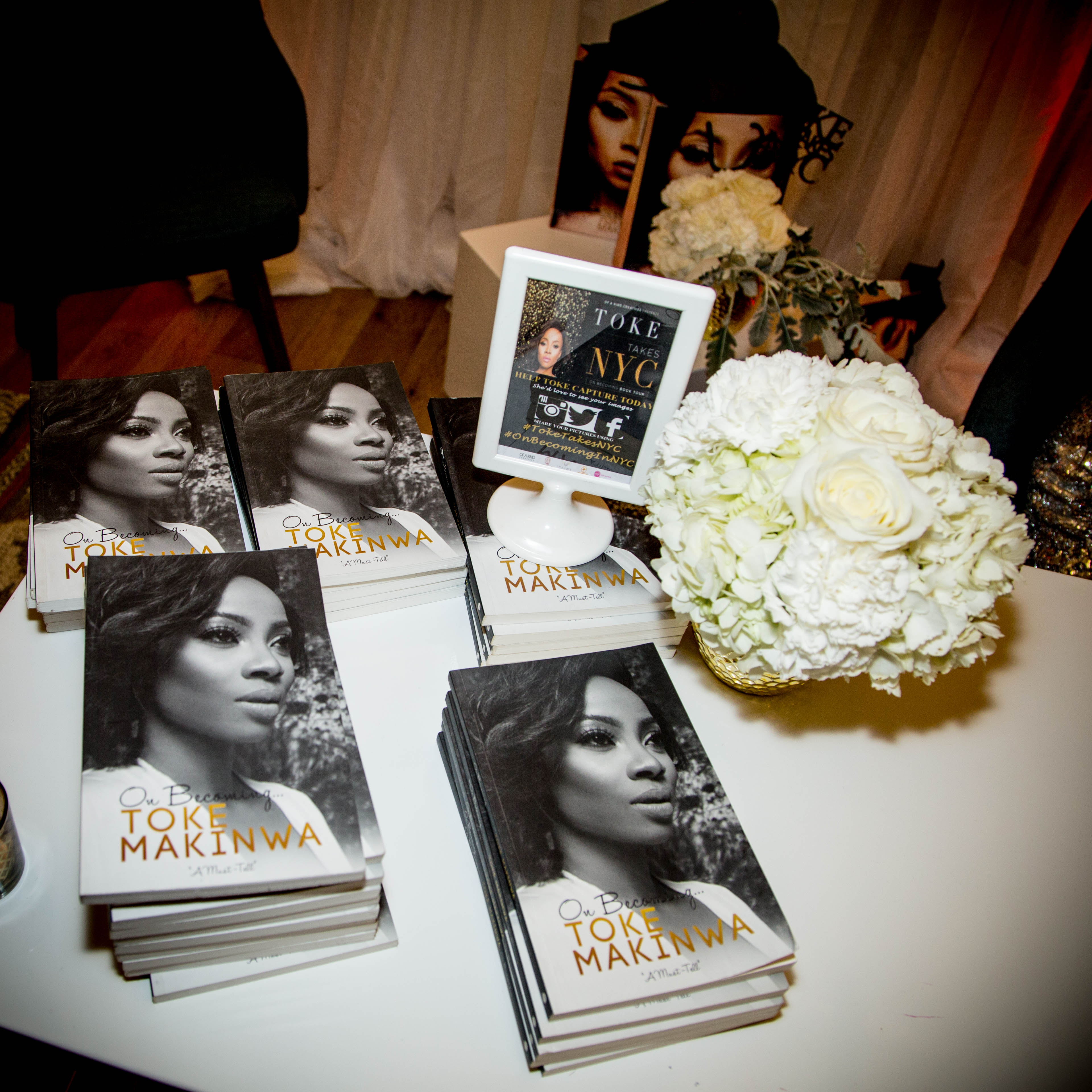 'On Becoming' by Toke Makinwa: NYC Book Tour